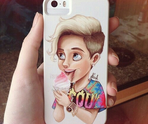 miley cyrus, iphone, and case image