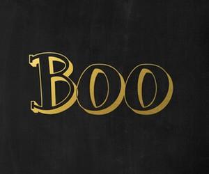 boo and Halloween image