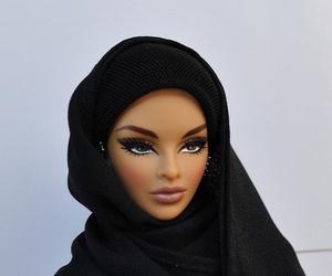 barbie, hijab, and muslim image
