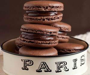 chocolate, paris, and food image