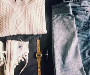 autumn, converse, and fashion image