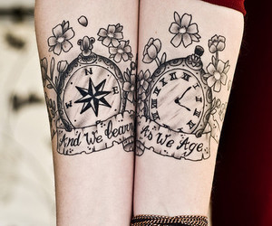 age, Tattoos, and time image