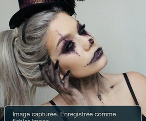 makeup scary image