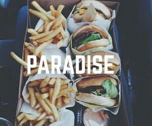 food, paradise, and like image