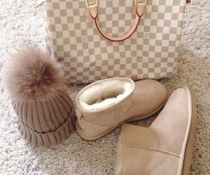 bag, ugg, and winter image