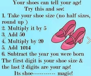 age and shoes image
