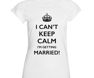 label, wedding, and keep calm image