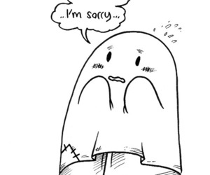 ghost, cute, and shy image