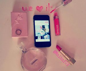 chanel, pink, and we heart it image