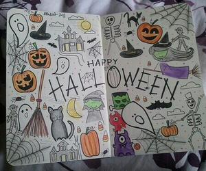 Halloween, tomorrow, and wreck this journal image