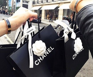 chanel, shopping, and bag image