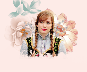 anna, once upon a time, and frozen image