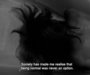 normal, society, and black and white image