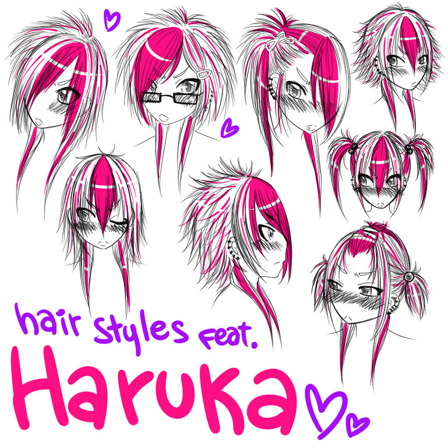 Emo Hair Uploaded By Siva e n d On We Heart It