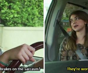funny, sisters, and modern family image