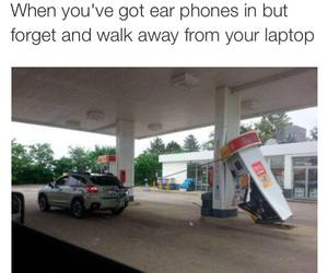 funny, laptop, and lol image