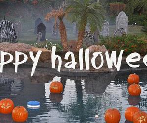 spells, spooky, and happy halloween image