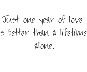 alone, love, and better image