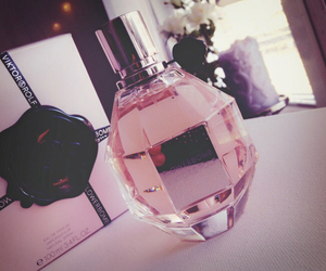 flowerbomb, perfume, and pink image
