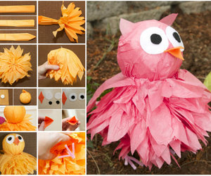 crafts, paper owl, and diy image