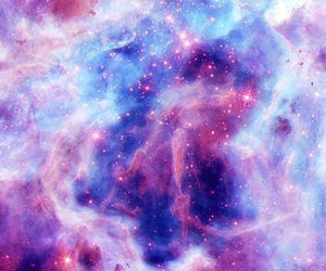pink, background, and galaxy image