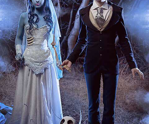 corpse bride, cosplay, and tim burton image