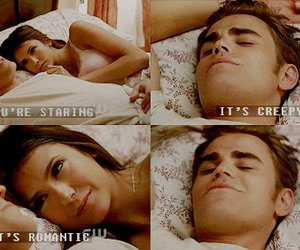 elena, stefan, and the vampire diaries image