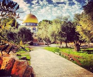 palestine and Jerusalem image