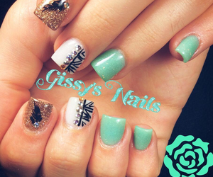 nails, prettynails, and cutenails image