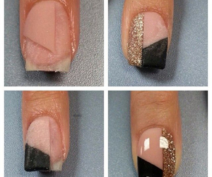 nails, manicure, and nailart image