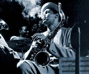jazz, music, and black and white image