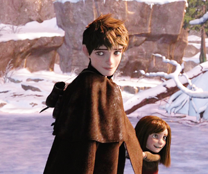 jack frost, sister, and snow image