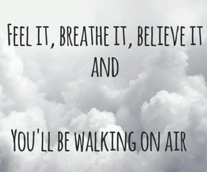 kerli, Lyrics, and walking on air image
