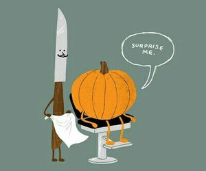 Halloween, funny, and pumpkin image