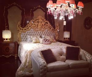 luxury, room, and bedroom image