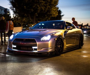 car, luxury, and nissan image