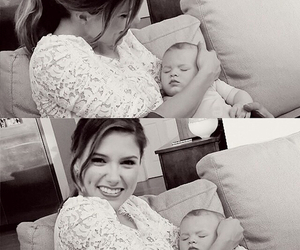 baby, brooke davis, and one tree hill image