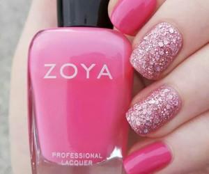 art, pink, and zoya image