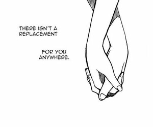love, quotes, and manga image