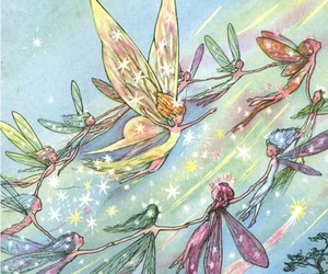 fairy, fantasy, and magic image