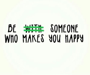 happy, quote, and someone image