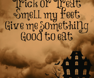 Halloween and trick or treat image