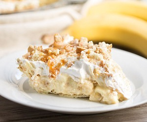 banana, delicious, and dessert image