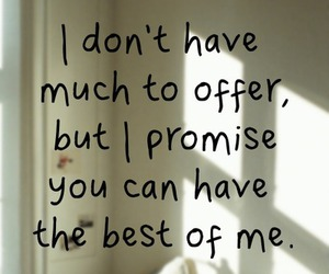 love, quotes, and promise image