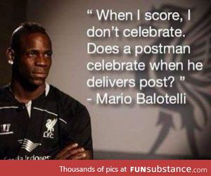 football and mario balotelli image