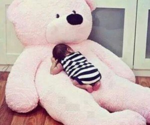 baby, love, and pink image