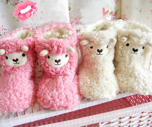slippers and cute image