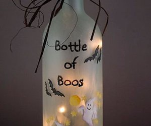 Halloween, bottle, and ghost image
