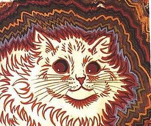 cat and louis wain image