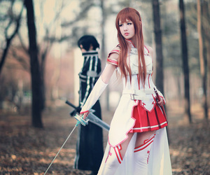 cosplay, sword art online, and sao image